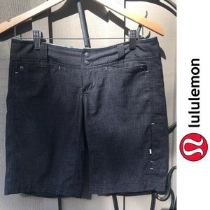 Lululemon Board Shorts in Heathered Black